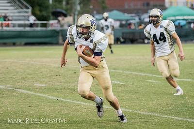 Broughton Varsity football vs Cary. August 31, 2017.