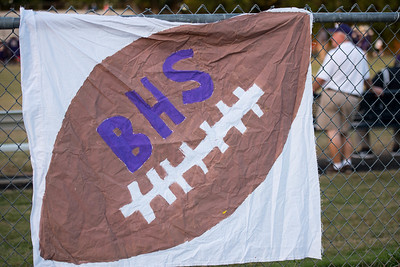 Broughton varsity football vs. Enloe. October 6, 2017.