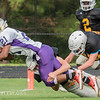 Broughton Football Scrimmages Holly Springs. August 9, 2017