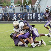 Broughton Varsity Football scrimmages Holly Springs. August 9, 2017