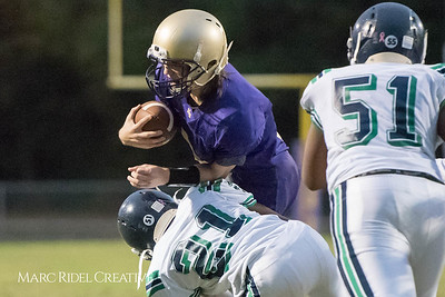 Broughton JV football vs Leesville. October 12, 2017.