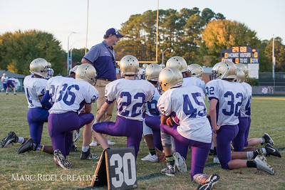 Broughton JV football vs Millbrook. November 2, 2017.