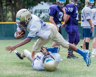 Broughton Football Summer Training. August 7, 2017