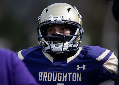 Broughton JV football vs Leesville. March 20, 2021