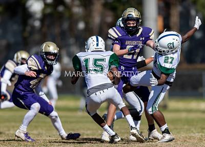 Broughton varsity football vs Southeast Raleigh. March 5, 2021