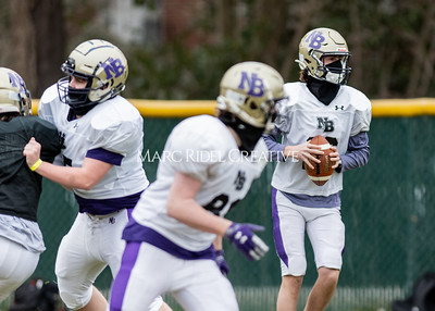 Broughton football practice. March 2, 2021