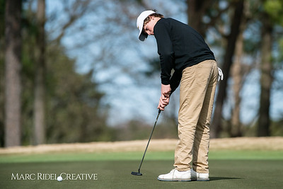 Broughton golf at Carolina Country Club. March 12, 2019. D4S_6042