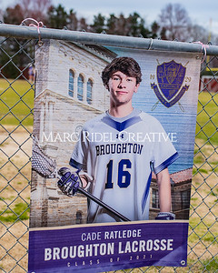 Broughton varsity lacrosse vs Sanderson. March 9, 2021