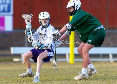 Broughton lacrosse vs Cardinal Gibbons. February 9, 2021