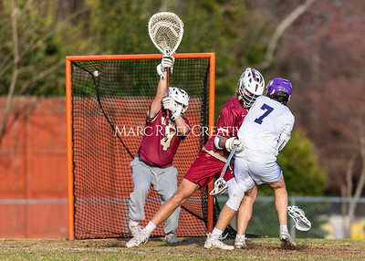 Broughton lacrosse vs Ashley. Second round 4A NCHSAA playoffs. March 17, 2021