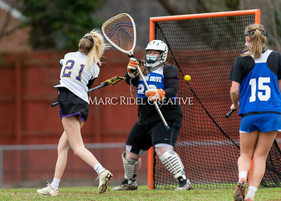 Broughton JV girls lacrosse vs Athens Drive. March 2, 2021