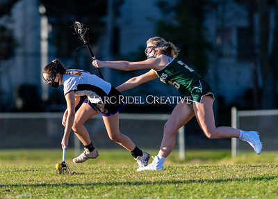 Broughton Lady Caps JV and varsity lacrosse vs Cardinal Gibbons. March 4, 2021