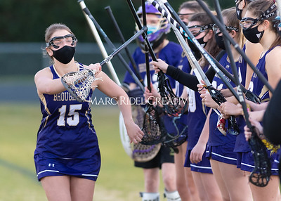 Broughton Lady Caps lacrosse vs Enloe. February 25, 2021
