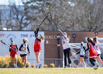 Broughton Lady Capitals varsity lacrosse vs Sanderson. February 20, 2021