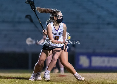 Broughton jv and varsity Lady Caps lacrosse vs Millbrook. March 11, 2021