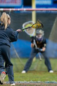 Broughton Lady Caps varsity lacrosse at Sanderson. March 22, 2019. D4S_2680