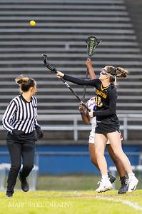 Broughton Lady Caps varsity lacrosse at Sanderson. March 22, 2019. D4S_2717