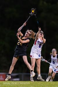 Broughton Lady Caps varsity lacrosse at Sanderson. March 22, 2019. D4S_2766