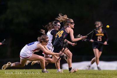 Broughton Lady Caps varsity lacrosse at Sanderson. March 22, 2019. D4S_2769