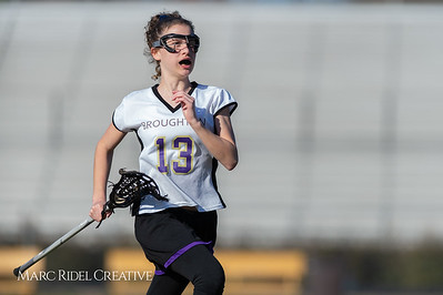 Broughton JV Lady Caps lacrosse vs Cardinal Gibbons. March 19, 2019. D4S_1117