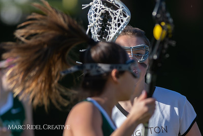 Broughton JV Lady Caps lacrosse vs Cardinal Gibbons. March 19, 2019. D4S_1203