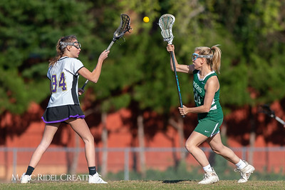 Broughton JV Lady Caps lacrosse vs Cardinal Gibbons. March 19, 2019. D4S_1150