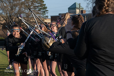 Broughton varsity Lady Caps lacrosse vs Cardinal Gibbons. March 19, 2019. MRC_4617