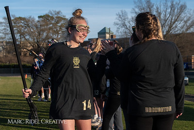 Broughton varsity Lady Caps lacrosse vs Cardinal Gibbons. March 19, 2019. MRC_4641