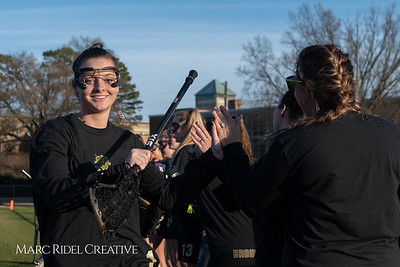 Broughton varsity Lady Caps lacrosse vs Cardinal Gibbons. March 19, 2019. MRC_4665