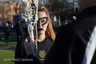 Broughton varsity Lady Caps lacrosse vs Cardinal Gibbons. March 19, 2019. MRC_4589
