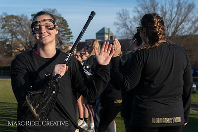 Broughton varsity Lady Caps lacrosse vs Cardinal Gibbons. March 19, 2019. MRC_4667