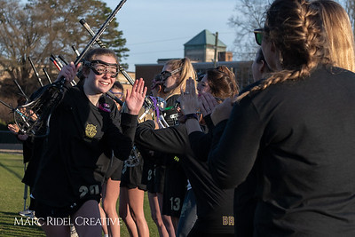 Broughton varsity Lady Caps lacrosse vs Cardinal Gibbons. March 19, 2019. MRC_4672