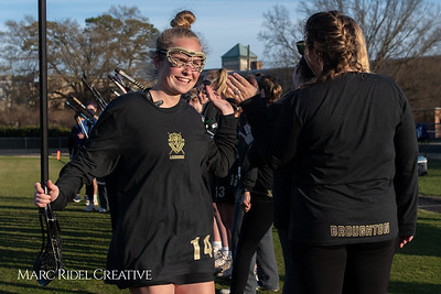 Broughton varsity Lady Caps lacrosse vs Cardinal Gibbons. March 19, 2019. MRC_4642