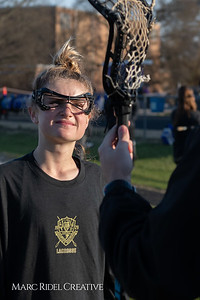 Broughton varsity Lady Caps lacrosse vs Cardinal Gibbons. March 19, 2019. MRC_4601