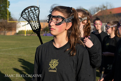 Broughton varsity Lady Caps lacrosse vs Cardinal Gibbons. March 19, 2019. MRC_4566