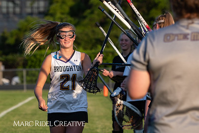 Broughton varsity lacrosse vs Enloe. April 23, 2019. MRC_6637