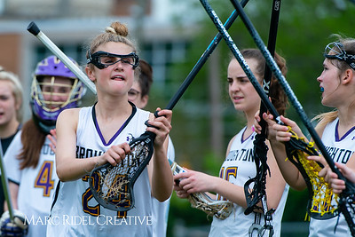 Broughton Lady Caps varsity lacrosse vs Leesville. April 9, 2019. D4S_4189