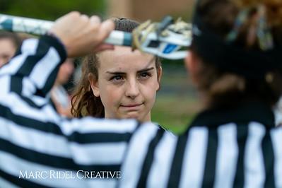 Broughton Lady Caps varsity lacrosse vs Leesville. April 9, 2019. D4S_4080