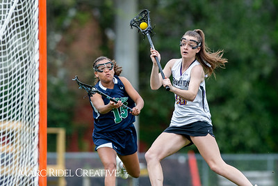 Broughton Lady Caps varsity lacrosse vs Leesville. April 9, 2019. D4S_4222