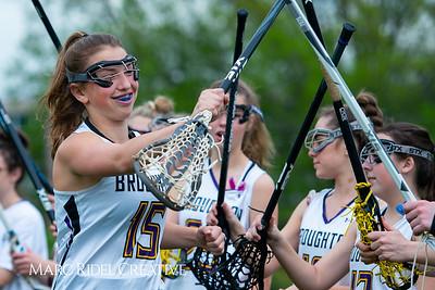 Broughton Lady Caps varsity lacrosse vs Leesville. April 9, 2019. D4S_4164