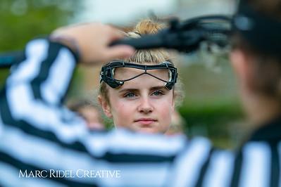 Broughton Lady Caps varsity lacrosse vs Leesville. April 9, 2019. D4S_4105