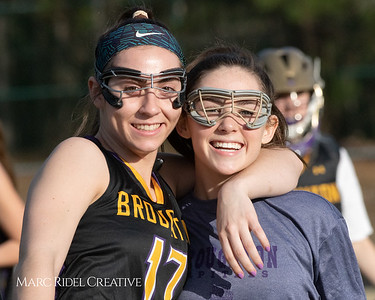 Broughton Lady Caps lacrosse at Middle Creek. February 26, 2019. MRC_3979