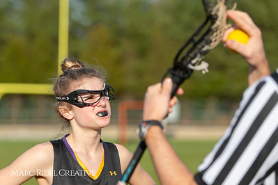 Broughton Lady Caps lacrosse at Middle Creek. February 26, 2019. D4S_1567