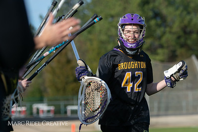 Broughton Lady Caps lacrosse at Middle Creek. February 26, 2019. D4S_1606