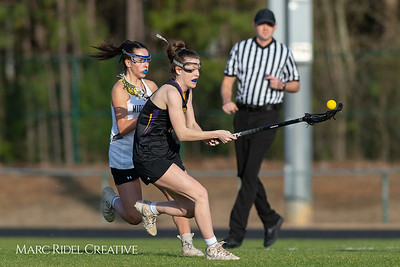 Broughton Lady Caps lacrosse at Middle Creek. February 26, 2019. D4S_1647