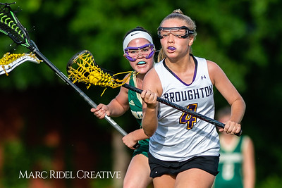 Broughton varsity lacrosse vs Pinecrest. NCHSAA playoffs round 2. May, 3, 2019. D4S_0146