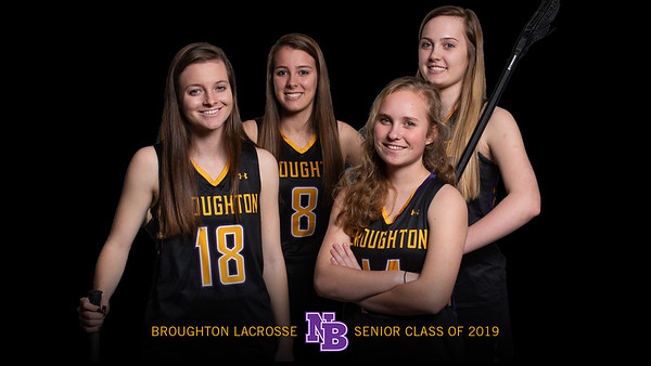 Broughton Lady Caps lacrosse senior photoshoot. February 19, 2019. 750_8223