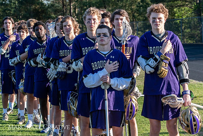 Broughton varsity lacrosse vs. Leesville. April 19, 2018.