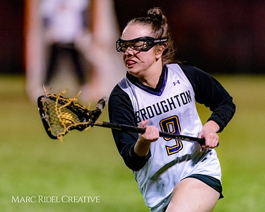 Broughton lacrosse vs Cardinal Gibbons. March 5, 2018