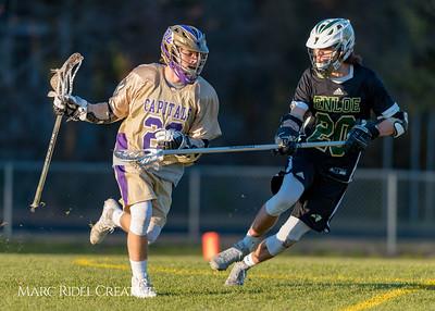 Broughton varsity lacrosse vs. Enloe. 21-0. March 9, 2018